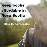 Say no to 15% on books in Nova Scotia